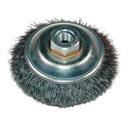 Steel Wire Bevel Brush
