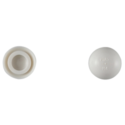 Color Cap for Pan Head Light White