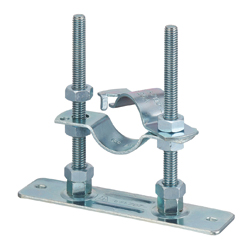 Plate with Floor Band Set Floor Nuts (Electro Zinc Plated/Stainless Steel)