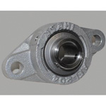 Rhombus Flange Unit, Aluminum Series, Cylindrical Hole Shape with Set Screw, MUCAFL Type