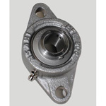 Rhombus Flange Unit, Stainless Steel Series, Cylindrical Hole Shape with Set Screw, MUCFL Type
