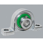 Pillow Block Unit, Silver Series, Cylindrical-bore Type with Eccentric Wheel, MUP Type