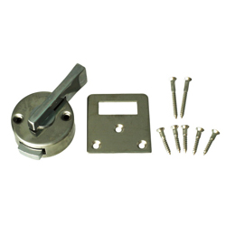 Inner Tightening Latch, Stainless Steel Color