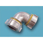 Tube Expansion Fitting for Stainless Steel Pipes, BK Joint, 90° Elbow
