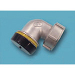 Tube Expansion Fitting for Stainless Steel Pipes, BK Joint, One-End Socket 90° Elbow