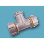 Tube Expansion Fitting for Stainless Steel Pipes, BK Joint, Water Faucet Tee