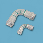 Double Press 90° Elbow with Safety Function, Applicable to Stainless Steel Pipes