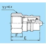 EA Series Nose for BI Coupler Standard High-Pressure