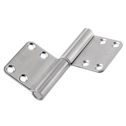 195DR, Noiseless Flag Hinge (Front Attachment, Engraved Type)