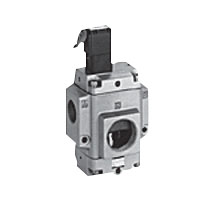 Air-Operated, 3-Port Valve, Solenoid Valve Mounted NVP11 Series