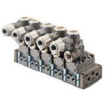 [NEW]Single unit for individual wiring manifold, Pilot-operated explosion-proof 5-Port Selex Valve, 4F**9EX Series