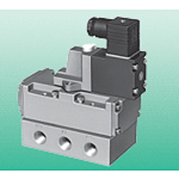 Single Unit Valve, Pilot-Operated 5-Port Connection Valve, Selex Valve, 4F4/5/6/7 Series