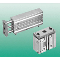 Cylinder with multifunction guide STL series
