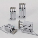 Cylinder with Multifunction Guide, STM Series