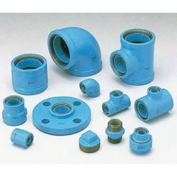 Core Fitting, for Lined Steel Pipe Connection, Tee
