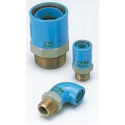 Core Fittings, for Appliance Connection, Dissimilar Metals Contact Prevention-Fittings, Male Adapter Elbow