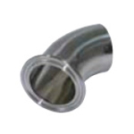 Sanitary Fitting Ferrule Parts EQ-FW Single Ferrule 45° Elbow