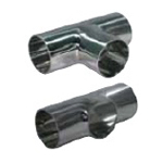 Sanitary Fittings welding Parts TE (LTE) -W welding Tees (Low Necked Tees)