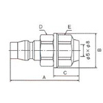 Zero-One Series Coupling Plug