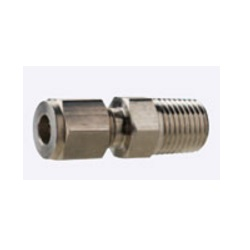 Stainless Steel Tube Fittings - Straight Connector - [EMMT]