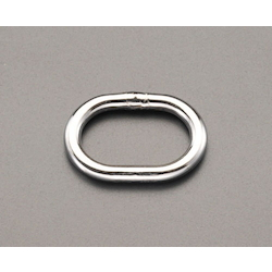 [Stainless Steel] Elliptical Ring EA638DN-20