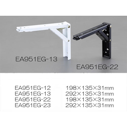 Folding Shelf Support (One Touch type) EA951EG-12