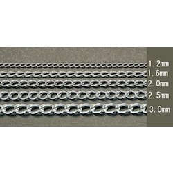 Stainless Steel Twist Link Chain EA980SH-26