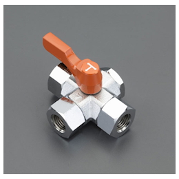 Three-Way Tetrahedral Mini Ball Valve EA425BZ-3