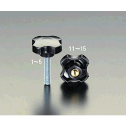 Plastic Knob, Male Thread EA948AY-4