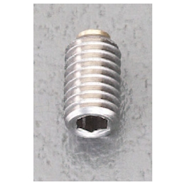 Set Screw with Hexagonal Hole [Stainless steel] (with Brass Pad) EA949DS-8