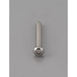 Button Head Bolt with Hexagonal Hole [Stainless Steel] EA949MF-610