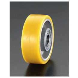 Polyurethane-tire Aluminum Wheel EA986MP-100