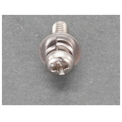 Pan Head Seems Machine Screw (Stainless Steel) (24 pcs) EA949AJ-237