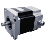 110 series 3-phase hybrid type stepping motor with a step angle of 1.2°-