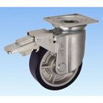 Casters for Heavy Loads - Swivel (with Rotation Stopper) JMB Type, Size 150 mm to 200 mm