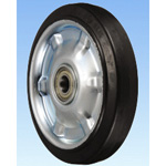 SHV Type, High Repulsion Polybutadiene Rubber Wheels (with Radial Bearings), Made of Steel Plate