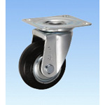 Medium Load Caster Swivel J Type Size 75 mm