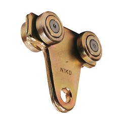 "Suspension Wheels for Door Hanger ""Niko"" (Double Wheel) (for Trolley Hanger)"