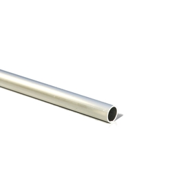 Aluminum Type Material For Hobby, Aluminum Round Pipe (L 300 mm)