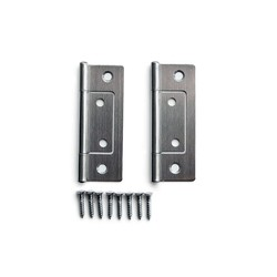 Stainless Front-Attachment Hinge
