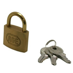 Padlock, Designated Key Number