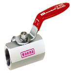 Stainless Steel Ball Valve, BSS Series, Lever Handle Type, Oil-Free Treated