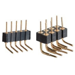 PCT Product, Pin Header / PRR-40 Pin (Round Pin), 2.54 mm Pitch, Right Angle (1 Row / 2 Rows)