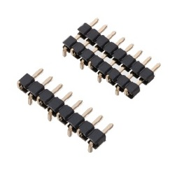 Nylon Pin Header / PSM-21 Pin (Square Pin), 2.00 mm Pitch, SMT Straight (1 Row)