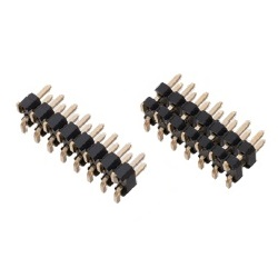 Nylon Pin Header / PSM-22 Pin (Square Pin), 2.00 mm Pitch, SMT Straight (2 Rows)