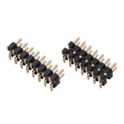 Nylon Pin Header / PSM-42 Pin (Square Pin), 2.54 mm Pitch, SMT Straight (2 Rows)