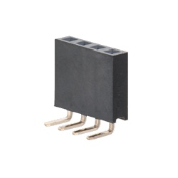 Pin Header / FSR-41 Socket (Square Pin), 2.54 mm Pitch, Right Angle (1 Row)