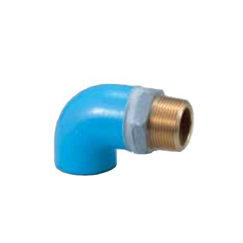 Pipe End Corrosion-Proof Pipe Fitting, Male Adapter Elbow With Corrosion-Proof Screw