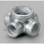 Pipe Fitting with Sealant WS Fitting Multi-Mouth Joint