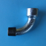 Pipe Fitting, Female and Male Bend